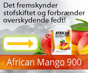 AfricanMango900 - vægttab