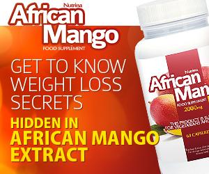 African Mango - vægttab