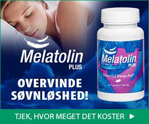 Melatolin Plus - søvnløshed